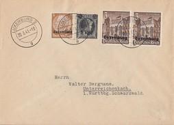 Dt. Besetzung Luxemburg Brief Mif Minr.1,17,2x 33 Luxemburg 20.3.41 - Besetzungen 1938-45