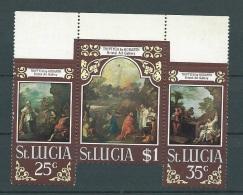 Sainte Lucie - Yvert N° 273 / 275  **  Cw 14401 - St.Lucia (1979-...)