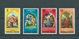 Trinité   - Yvert N° 290 / 293  **  Cw 14402 - Trindad & Tobago (1962-...)