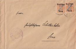 DR Dienst Brief Mef Minr.2x D61 - Dienstpost