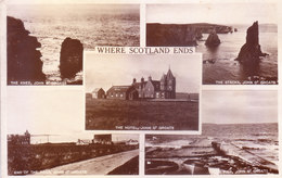 OLD AND ANTIQUE COLOUR PHOTO PICTURE POST CARD PRINTED IN ENGLAND - IMAGES OF SCOTLAND - TOURISM THEME - Postcards