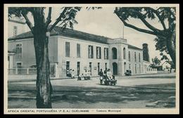 QUELIMANE - MUNICIPIOS - Camara Municipal ( Ed. Santos Rufino Nº I/5) Carte Postale - Mozambique