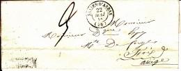 30 HAUTE GARONNE - TOUILLE - 1846 - Marcophilie (Lettres)