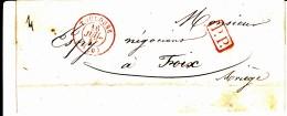 30 HAUTE GARONNE - TOULOUSE - 1847 - Marcophilie (Lettres)