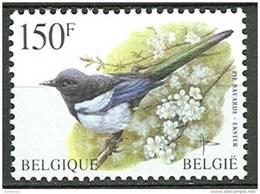 Belgium**MAGPIE-BIRDS-PIE BAVARDE-Oiseau-ELSTER-EKSTER-Vogel-1997-MNH - Belgium