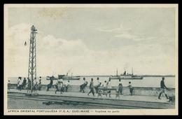 QUELIMANE - Vapores No Porto   ( Ed. Santos Rufino Nº I/9) Carte Postale - Mozambique