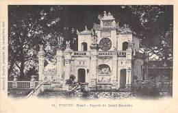 ASIE Asia - VIET NAM Vietnam - HANOÏ : Pagode Du Grand Boudhha - CPA - INDOCHINE - Vietnam