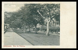 QUELIMANE -Rua Da Fabrica   ( Ed. Oswald Offmann Nº 79) Carte Postale - Mozambique