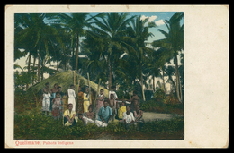 QUELIMANE - Palhota Indigena  ( Ed. Oswald Hoffmann Nº 66) Carte Postale - Mozambique