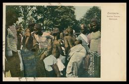 QUELIMANE - COSTUMES - Native Dance, Batuque  ( Ed. Spanos & Tsisias Nº 1125) Carte Postale - Mozambique