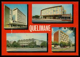 QUELIMANE -Predio Montegiro;Cinema Aguia;Palacio Das Repartições E P.Barreto&Fos.( Ed.F.Lusitana F11 ) Carte Postale - Mozambique