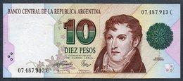 - 10 PESOS - 1994 - Série C ( Bottero - B3043) *** AUNC *** N° 07.487.913 C - Argentinien