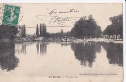Carte 1910 LA FLECHE / VUE DU LOIR - La Fleche
