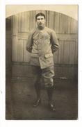 CAMP  DE  MANNHEIM - BADEN  ( Allemagne , Octobre 1916 ) /  Prisonnier Militaire Français  /  CARTE-PHOTO - Guerre 1914-18
