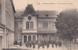 Carte 1915 CHATEAU DU LOIR / ECOLE SUPERIEURE DE FILLES (très Animée) - Chateau Du Loir
