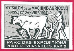 XIVème Salon De La Machine Agricole Paris 1935 - Publicités