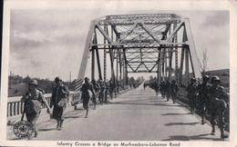 Infantry Crosses A Bridge On Murfreesboro-Lebanon Road - Etats-Unis