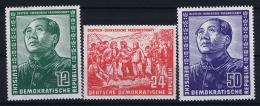 DDR  Mi Nr 286 - 288  MNH/**/postfrisch/neuf Sans Charniere  1951 MAO - DDR