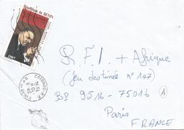 Benin 1994 Cotonou Martin Luther King Nobel Laureate Cover - Benin – Dahomey (1960-...)