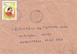 Benin 2011 Cotonou Jericho Cardinal 600f Cover - Benin – Dahomey (1960-...)