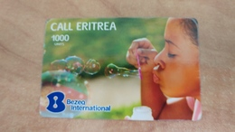 Israel-calleritrea-(4)-(30.11.2012)-(1000units)-bezeq International-used Card - Eritrea