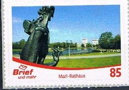 Privatpost Brief Und Mehr Münster: Marke Rathaus Marl - Selbstklebend - [7] Federal Republic