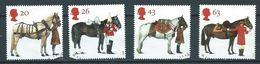 GROSSBRITANNIEN GRANDE BRETAGNE GB 1997 Horses Set Of 4v.  SG 1989-92 SC 1763-66 MI 1701-04 YV  1972-1975 - Used Stamps