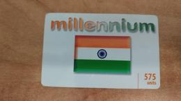 Israel-millennium-(2)-(12/2011)-(575units)used Card - India