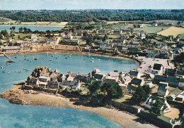 Bf - Cpsm Grand Format LOGUIVY De La MER - Vue Aérienne - Le Port - Francia