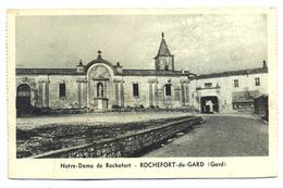 FRANCE--NOTRE-DAME DE ROCHEFORT-B AND W-- EN00058 - Ile-de-France
