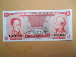 Venezuela 5 Bolívares 1989 - Venezuela