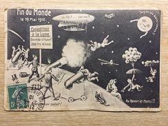 Carte Postale Fin Du Monde 1910 - Humour