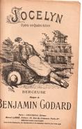Jocelyn -  - Berceuse - Musique Benjamin Godard - Ilustration  Par Ernest.Buval - Opern