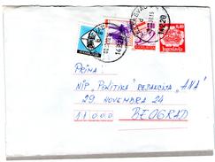 Yugoslavia Post Pay Post Coast Red Cross Stamp Chess - Yugoslavia