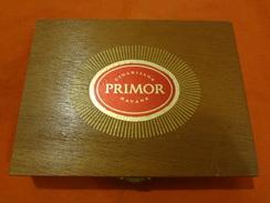 Boite à Cigares En Bois - Cigarillos Primor Havane - Empty Cigar Cabinet
