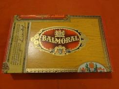 Boite à Cigares En Bois - Balmoral - Flor Fina - Ambassador - Scatola Di Sigari (vuote)