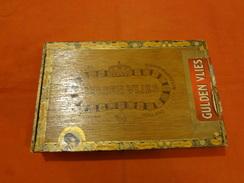 Boite à Cigares En Bois - Gulden Vlies - Suprema Havana - Tilbur - Holland - Empty Cigar Cabinet