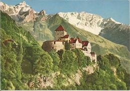 Schloss Vaduz, Residenz Des Regierenden Fürsten Von Liechtenstein. (scan Verso) - Liechtenstein