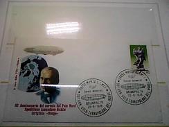 102583) Lettera  Con Annullo Speciale-50° Anniversario Sorvolo Del Polo Nord-nobile-dirigibile-norge-monza- 26-6-1976 - Zeppelin