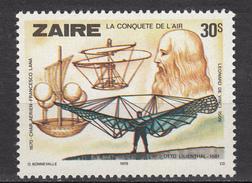 Zaire, Léonard De Vinci, Hélicoptère - Elicotteri