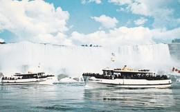 CANADA----maid Of The Mist-----voir 2 Scans - Chutes Du Niagara