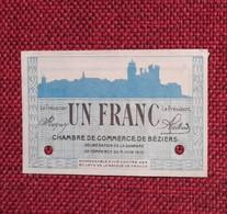 SPÉCIMEN 1 Franc 1915 BÉZIERS (34) - Chambre De Commerce