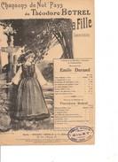 Partition- Marie Ta Fille  -  -Paroles : Theodore Botrel - Musiques: E. Durand - Non Classés