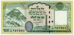 BRAND NEW NEPAL 100 RUPEE  BANKNOTE LORD BUDDHA 2015/16 MINT UNCIRCULATED - Nepal