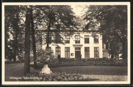 CPA Hillegom, Gemeentehuis, Hôtel De Ville - Pays-Bas