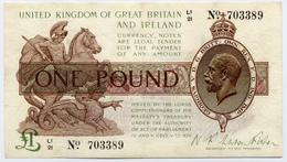 UK Great Britain 1 Pound ND 1922-1923 P-359 - …-1952 : Voor Elizabeth II