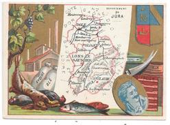 CHROMO - Département Du JURA - Chromos