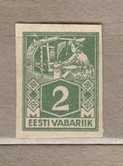 ESTONIA 1922 Mint No Gum Mi 34b #20851 - Estland