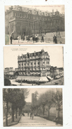 G-I-E , Cp , 87 , LIMOGES , LOT DE 3 CARTES POSTALES - Limoges