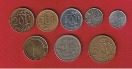 Finlande  -- Lot De 8 Monnaies - Finlande